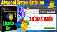 Advanced System Optimizer 3.9.3645.16880 krkck+Ky Full Version 2019/2020